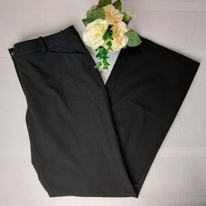 Karl Lagerfeld Paris Black Straight Leg Pant 12